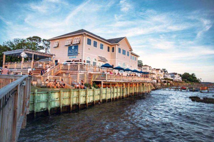AQUA Restaurant & Spa Duck NC Outer Banks